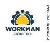 working man for construction... | Shutterstock .eps vector #449475226