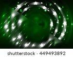 abstract fractal green... | Shutterstock . vector #449493892