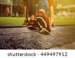 road runner | Shutterstock . vector #449497912