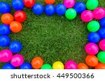 Colorful Ball Frame
