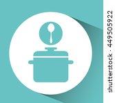 kitchen tools food cookware... | Shutterstock .eps vector #449505922