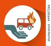 ensure protection insurance... | Shutterstock .eps vector #449507266