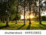 a lovely sunset in finland | Shutterstock . vector #449515852