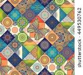 seamless pattern. vintage... | Shutterstock . vector #449530762