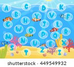 lovely children activity play... | Shutterstock .eps vector #449549932