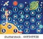 lovely children activity play... | Shutterstock .eps vector #449549938
