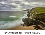 slea head dingle peninsula... | Shutterstock . vector #449578192