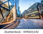 modern skyline of london city. | Shutterstock . vector #449601142