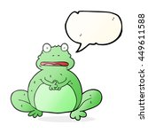 freehand drawn speech bubble... | Shutterstock . vector #449611588