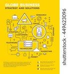vector creative concept... | Shutterstock .eps vector #449623096