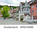 old town in st. gallen ... | Shutterstock . vector #449676088