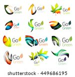 multicolored abstract leaves in ... | Shutterstock . vector #449686195