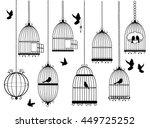 Vector Illustration Of Bird...