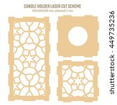 diy laser cutting vector scheme ... | Shutterstock .eps vector #449735236