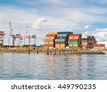 tauranga  new zealand  ... | Shutterstock . vector #449790235
