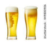 the beer isolated on white | Shutterstock . vector #449800906