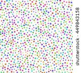 seamless pattern of prismatic... | Shutterstock .eps vector #449843158
