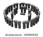 3d Render Of Ancient Stonehenge