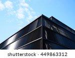 abstract modern building | Shutterstock . vector #449863312