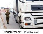 grodno  belarus   nov 15  a... | Shutterstock . vector #449867962