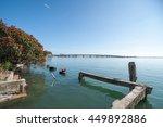 Tauranga Harbor And Red...