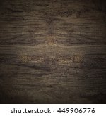 empty wooden table black wall... | Shutterstock . vector #449906776