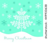 christmas   new year card | Shutterstock .eps vector #449933638