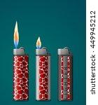vector illustration set of... | Shutterstock .eps vector #449945212