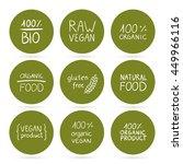 vector illustration of healthy... | Shutterstock .eps vector #449966116