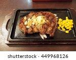 japanese grilled beef steak...