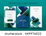 mobile background ui  ... | Shutterstock .eps vector #449976022