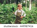 child gardener. | Shutterstock . vector #449987416