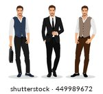 stylish high detailed graphic... | Shutterstock .eps vector #449989672