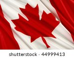 Close Up Shot Of Wavy Canadian...