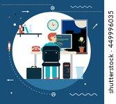 programming and web development ...   Shutterstock . vector #449996035