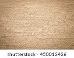 close up raw brown burlap... | Shutterstock . vector #450013426