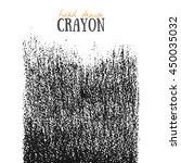 crayon scribble texture. wax... | Shutterstock .eps vector #450035032