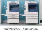 office life  fax  copy machine  ... | Shutterstock . vector #450062836