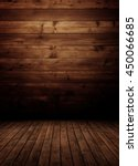 empty wooden interior room. | Shutterstock . vector #450066685