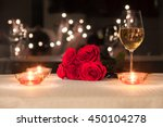 Romantic Candle Light Dinner.