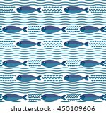 Abstract Creative Fish Pattern...
