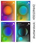abstract modern vector... | Shutterstock .eps vector #450109642