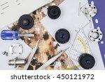 experimentation  creative... | Shutterstock . vector #450121972