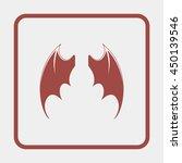 bat wings. | Shutterstock .eps vector #450139546