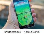 roseville  ca   july 10  an... | Shutterstock . vector #450153346