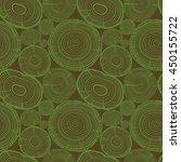 hand drawn seamless wooden...   Shutterstock .eps vector #450155722