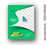 flyer  poster   magazine design ... | Shutterstock .eps vector #450158668