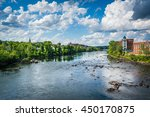 View Of The Merrimack River  I...