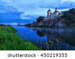 Russian Orthodox Church. Fog...