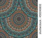 vector seamless pattern with... | Shutterstock .eps vector #450240832